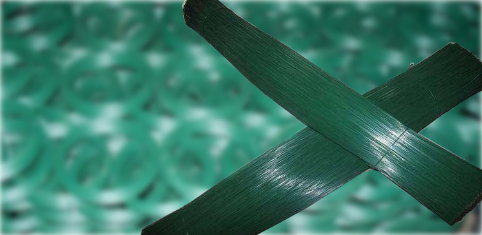 Garden Tying Wire, Floral Wire, PVC Coated Galvanized Wire Ties
