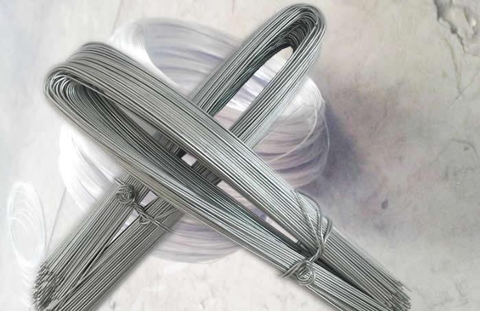 U Type Binding Wire Galvanized And Black Non Galvanised